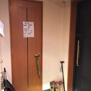 開閉が面倒な収納扉